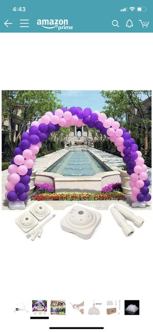 Balloon arch stand for Sale in Peoria, IL