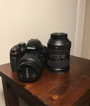Nikon d3300 camera with extra lens! for Sale in St. Louis, MO