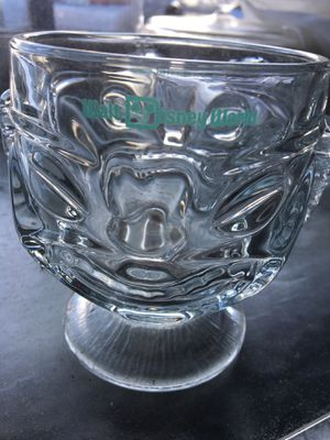 Disney glass/crystal bowl for Sale in Hudson, FL
