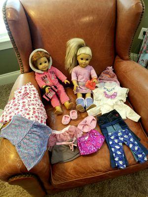 SET of 2 American Girl Dolls for Sale in Dallas, GA