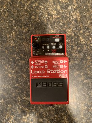 Boss RC-3 Loop Station Pedal for Sale in Verona, KY