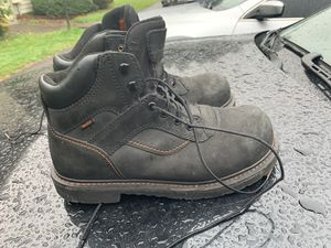 Steel Toe Work Boots sz 10.5 for Sale in Tacoma, WA