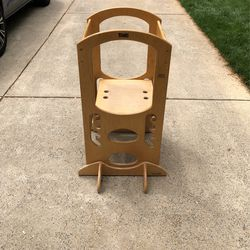 The Learning Tower - Golden Oak - Adjustable Kids Tower for Sale in Huntersville, NC