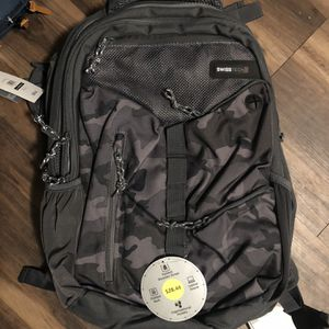 swiss tech camo backpack for Sale in Bakersfield, CA