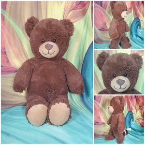 "16"" Build A Bear Classic Dark Brown Teddy Plush Stuffed BABW Soft EUC for Sale in Dale, TX"