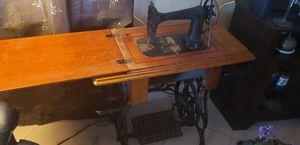 Antique Standard Sewing Machine in cabinet for Sale in Hudson, FL