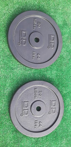DP Standard Size Plate Barbell Weights 2x44lbs for Sale in Hollywood, FL