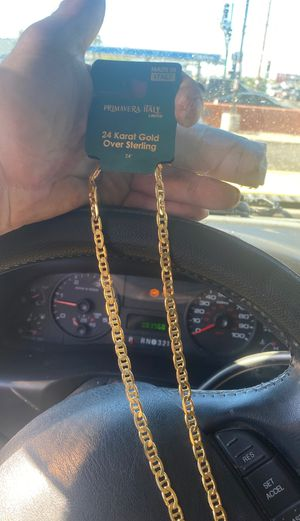 24 inch gold chain I will come to you for Sale in Phoenix, AZ