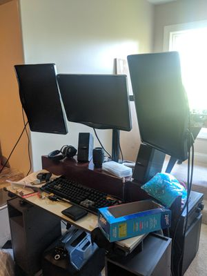 Triple monitors for Sale in Bloomingdale, IL
