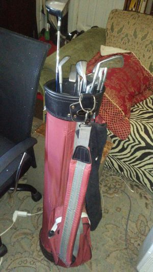 Golf clubs with bag for Sale in Savannah, GA