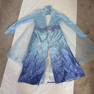 Girls Toddler 4-6 Frozen Costume Dress Up for Sale in Huntington Beach, CA