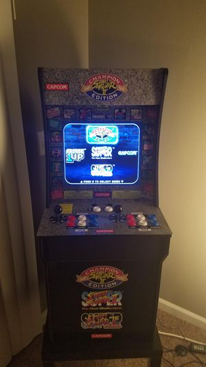 Street Fighter 2 C.E. Arcade 1up! for Sale in Riverside, CA