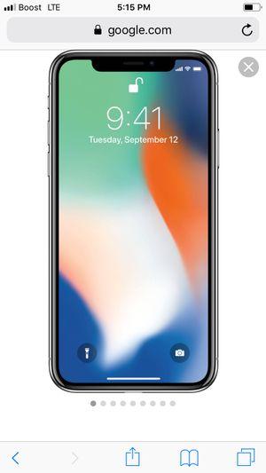 Used, iPhone X for Sale for sale  Hampton, GA