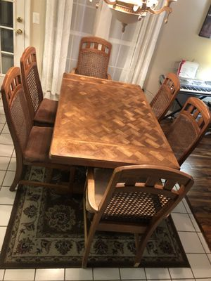 Wood Kitchen Table for 6 REDUCED for Sale in Smyrna, GA