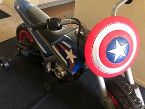 Captain America 6V Battery-Powered Ride-On Toy by Huffy for Sale in Montebello, CA