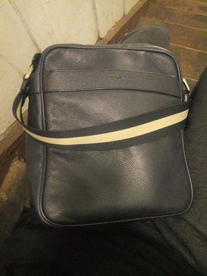 COACH Mens Flight Bag Smith Leather Crossbody Bag for Sale in Los Angeles, CA