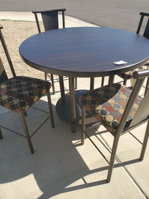Kitchen Table with 4 Chairs for Sale in Peoria, AZ