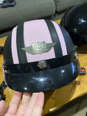 Women's Leather Wrapped Motorcycle Helmet for Sale in Hillsboro, OR