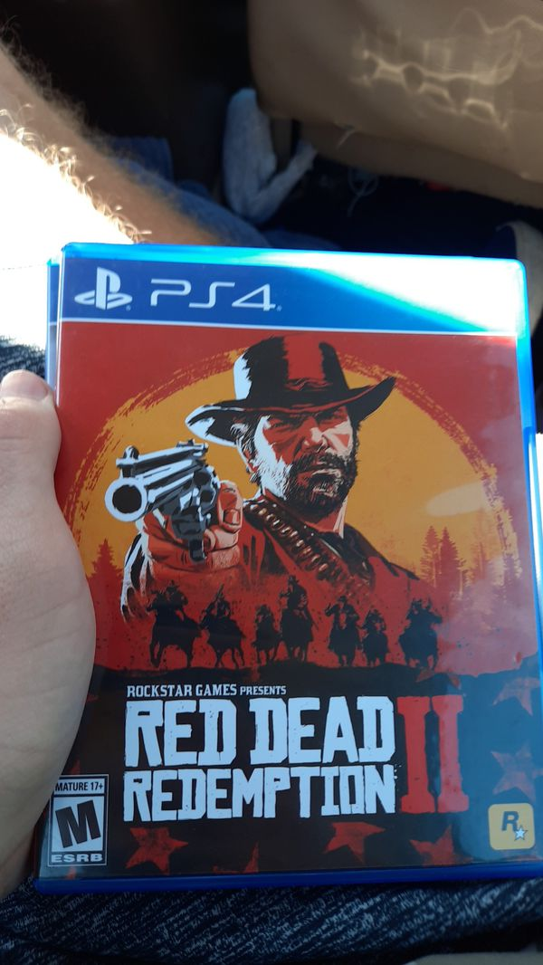 Ps4 games red dead 2 and star wars fallen order