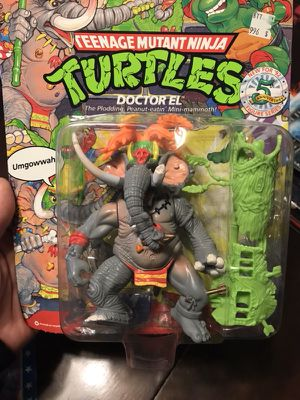 Doctor El ninja turtle toy still sealed on card. Collectible and rare! for Sale in Denver, CO