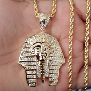 EGYPT KING PHARAOH PENDANT & ROPE CHAIN for Sale in Los Angeles, CA