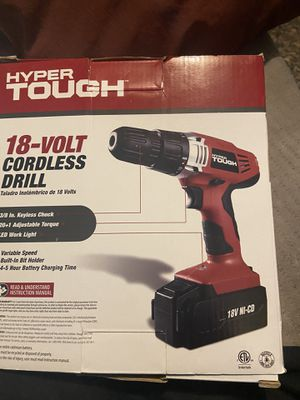 hyper tough 18‑volt cordless drill for Sale in Los Angeles, CA