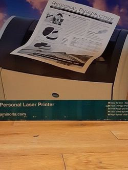 Minolta B&W Laser Printer for Sale in New York,  NY
