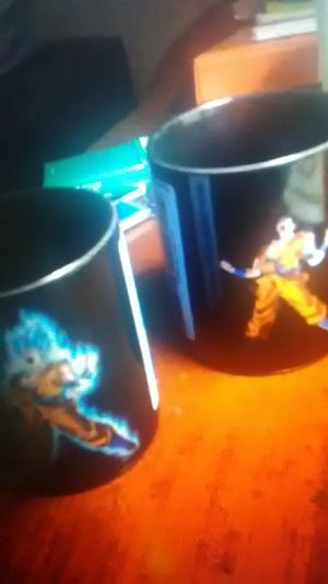 """Dragonball Z """"Goku"""" coffee cup(s) for Sale in Modesto, CA"""