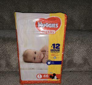 Huggies diapers sz 1 for Sale in Secaucus, NJ