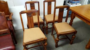 Set of 4 antique dining room chairs for Sale in Playa del Rey, CA