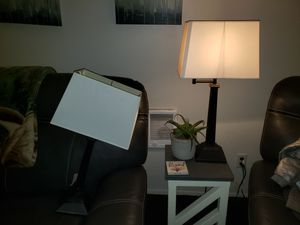 2 Side Lamps for Sale in Kent, WA