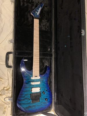 Jackson Pro Series Dinky DK3QMCHBL Electric Guitar with Gator Case - Excellent for Sale in High Ridge, MO