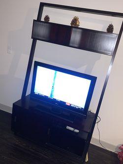 Dark Brown Cherry Wood TV STAND for Sale in Washington,  DC