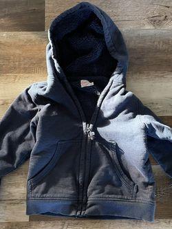 Size 6/7 Fleece Lined Sweatshirt/jacket for Sale in Ashburn,  VA