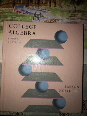 New College Algebra Textbook for Sale in Anaheim, CA