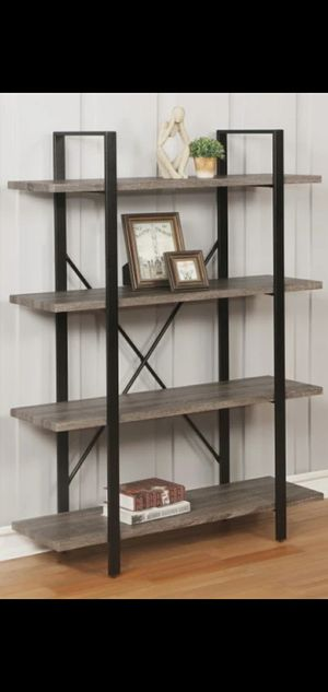 💢New Durango 4-Shelf Bookcase for Sale in Houston, TX