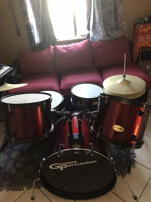 Groove Percussion 5-piece Drum Set for Sale in Las Vegas, NV