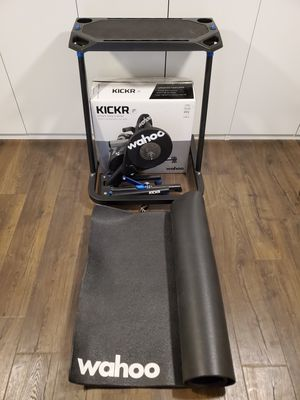 Wahoo Kickr Setup | Turbo Smart Trainer Desk and Mat for Sale in Tempe, AZ