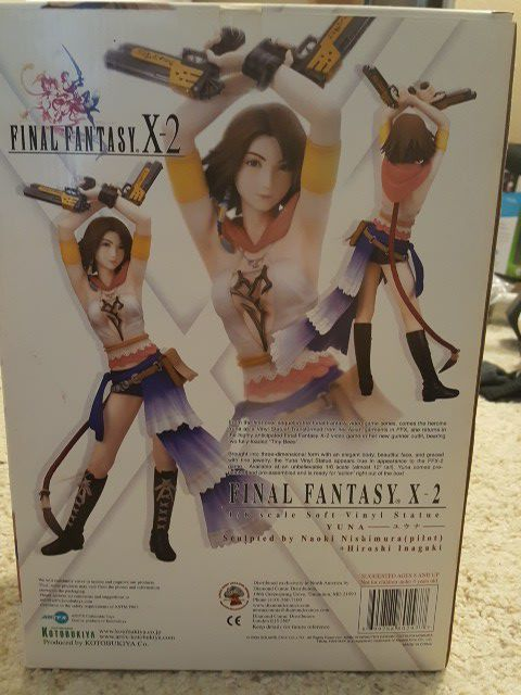 Final fantasy x-2 yuna 1/6 scale. Brand new