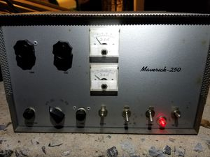 D&A Maverick 250 linear tube amplifier for Sale in North East, MD