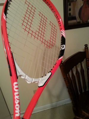 Wilson tennis racket and balls for Sale in Columbus, OH