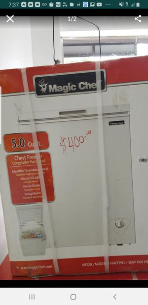 5.0 cubic feet freezer ,we are at 2109 e main street Bridgepor ct for Sale in Stamford, CT