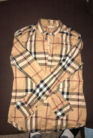 """Burberry """"baby shower"""" shirt for sale $100 for Sale in Baltimore, MD"""