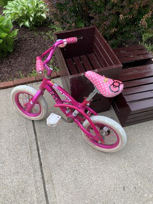 Hello Kitty Kids Bike Bicycle with Training Wheels for Sale in Strongsville, OH