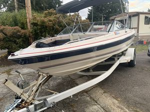 1988 BAYLINER 1800 Capri 18' Open Bow Boat Package sale or TRADE for Sale in Kent, WA