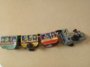 1950s Louis Marx Disneyland mechanical train for Sale in Norfolk, VA