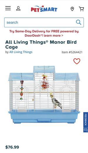 Bird cage (small birds) for Sale in Lake Stevens, WA