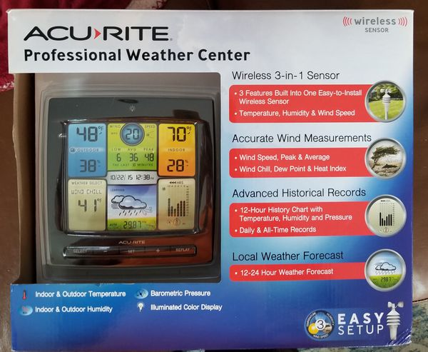 PROFESSIONAL Weather Center