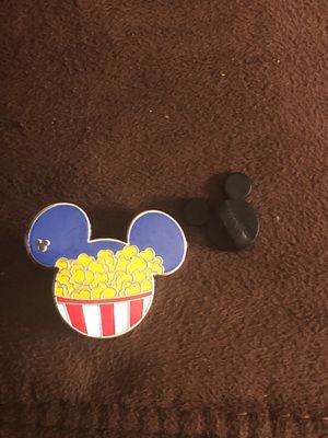 Disney Trading Pin (Mickey Mouse Logo POPCORN BUCKET) Hidden Mickey for Sale in Davenport, FL