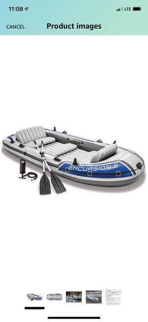 Intex Excursion Inflatable Boat Series 5 for Sale in Lake Forest, CA